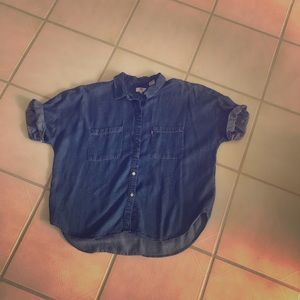 Levi's denim shirt XL